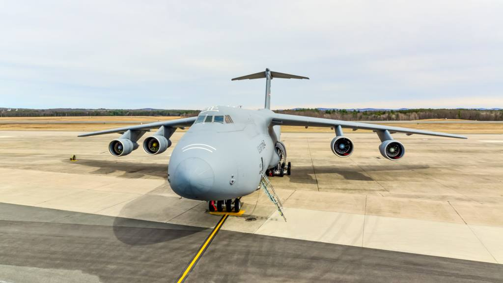Matterport 3d of C-5 Galaxy by Capture