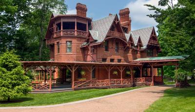 The Mark Twain House in Hartford, CT  USA